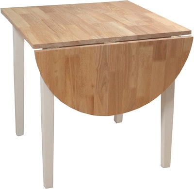 Target Marketing Systems Drop-Leaf Table
