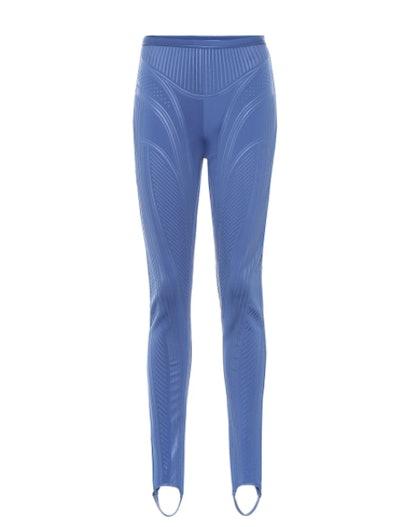 Stirrup compression leggings