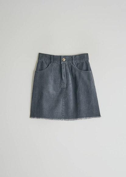 Laurentine Corduroy Skirt