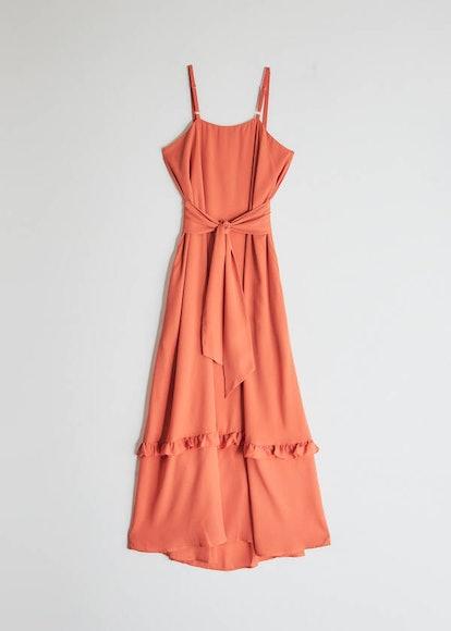 Aero Maxi Dress in Papya