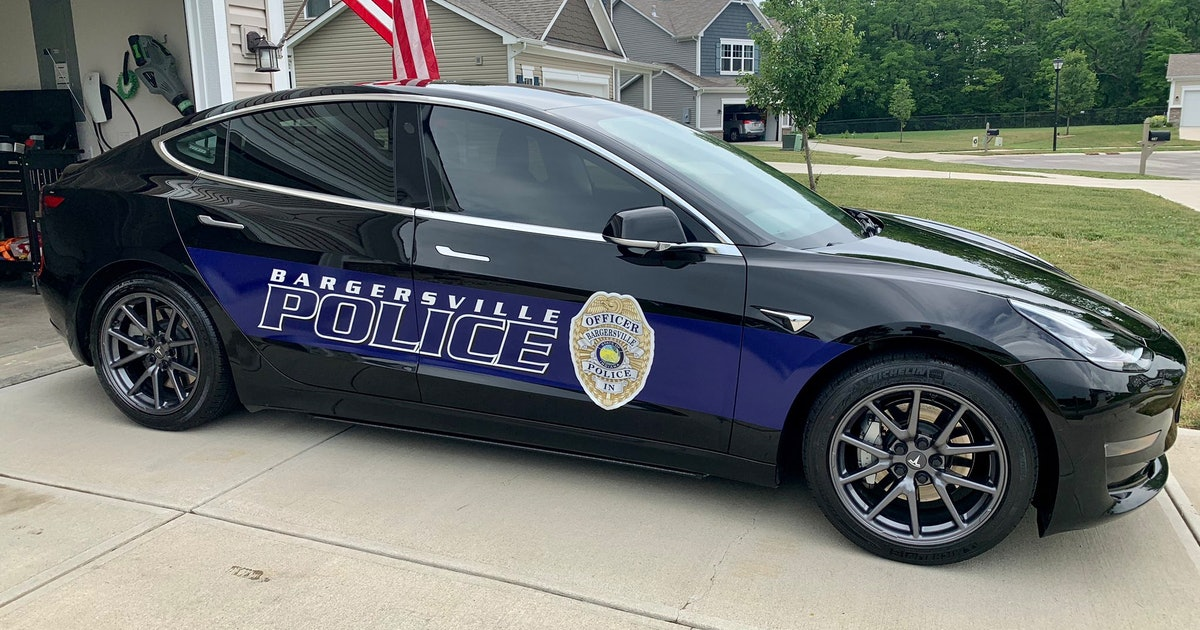 Turns out Tesla's Model 3 makes a great and affordable cop car
