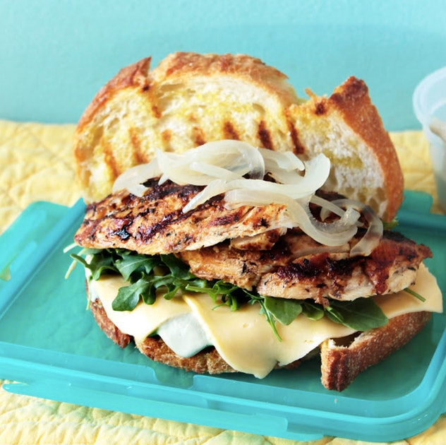 This recipe for a deconstruct to reconstruct picnic sandwich is the perfect summertime dinner to have on the go.