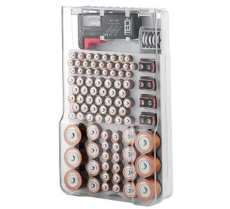 He battery organizer storage case