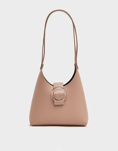 Nº44 Lucite Buckle Mini Bag in Blush
