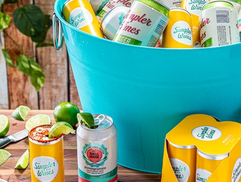 Trader Joe's new summer drinks include mango wine cocktail and pomegranate hard seltzer.