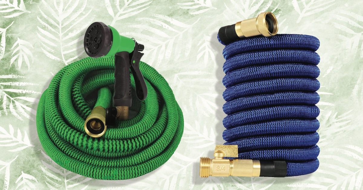 These Expandable Hoses Are The Lightweight & Kink-Free Tool You Need For All Your Watering Needs