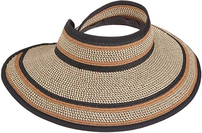 San Diego Hat Company Women's Ultrabraid Visor Hat
