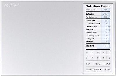 GreaterGoods Nourish Digital Kitchen Food Scale