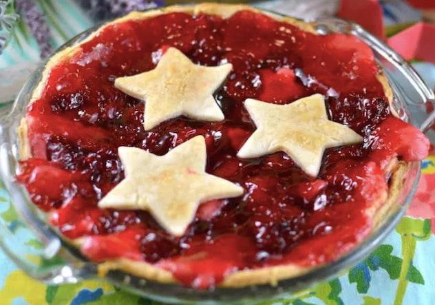 Easy Cherry Cream Cheese Pie for Summer