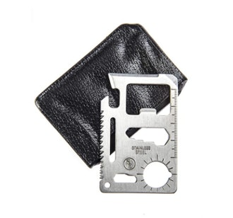 Se 11 function stainless steel survival tool