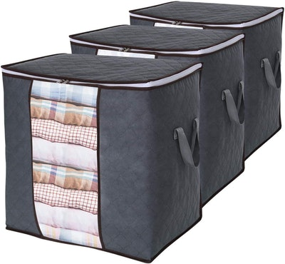 Lifewit Clothes Storage Bag (3-Pack)