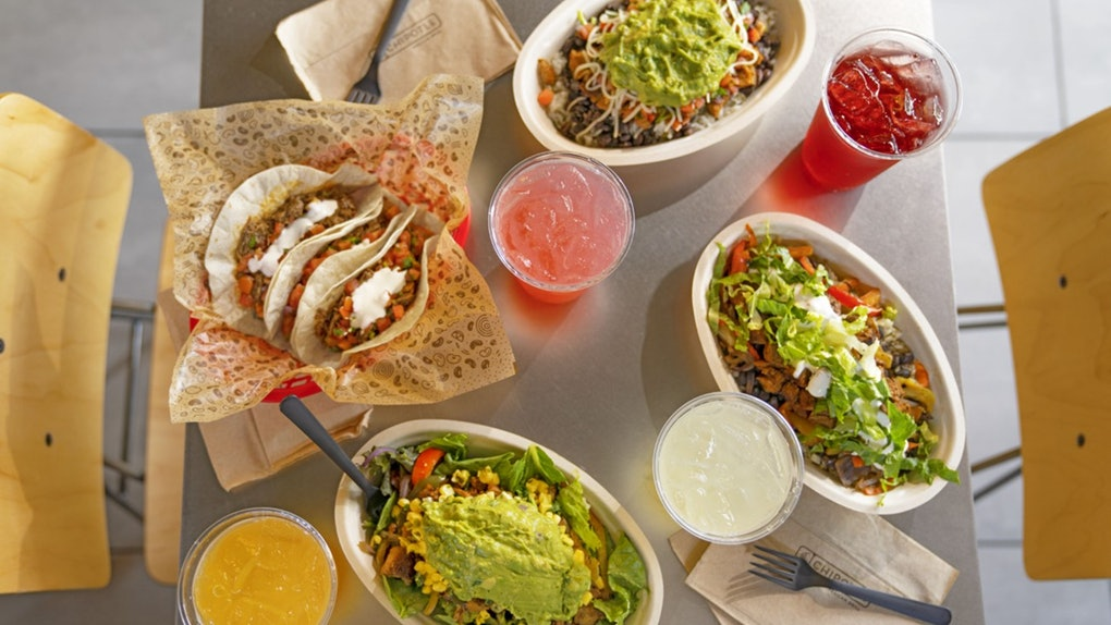 Chipotle's new drink menu with Tractor Beverage Company includes 2 Agua Fresca flavors.