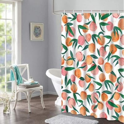Lifeel Peach Shower Curtain