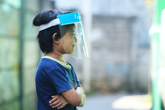 Face shields are not more effective than face masks, experts say.