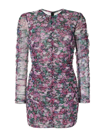 Anais Mesh Mini Dress