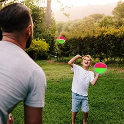 Qrooper Self-Stick Toss and Catch Game Set
