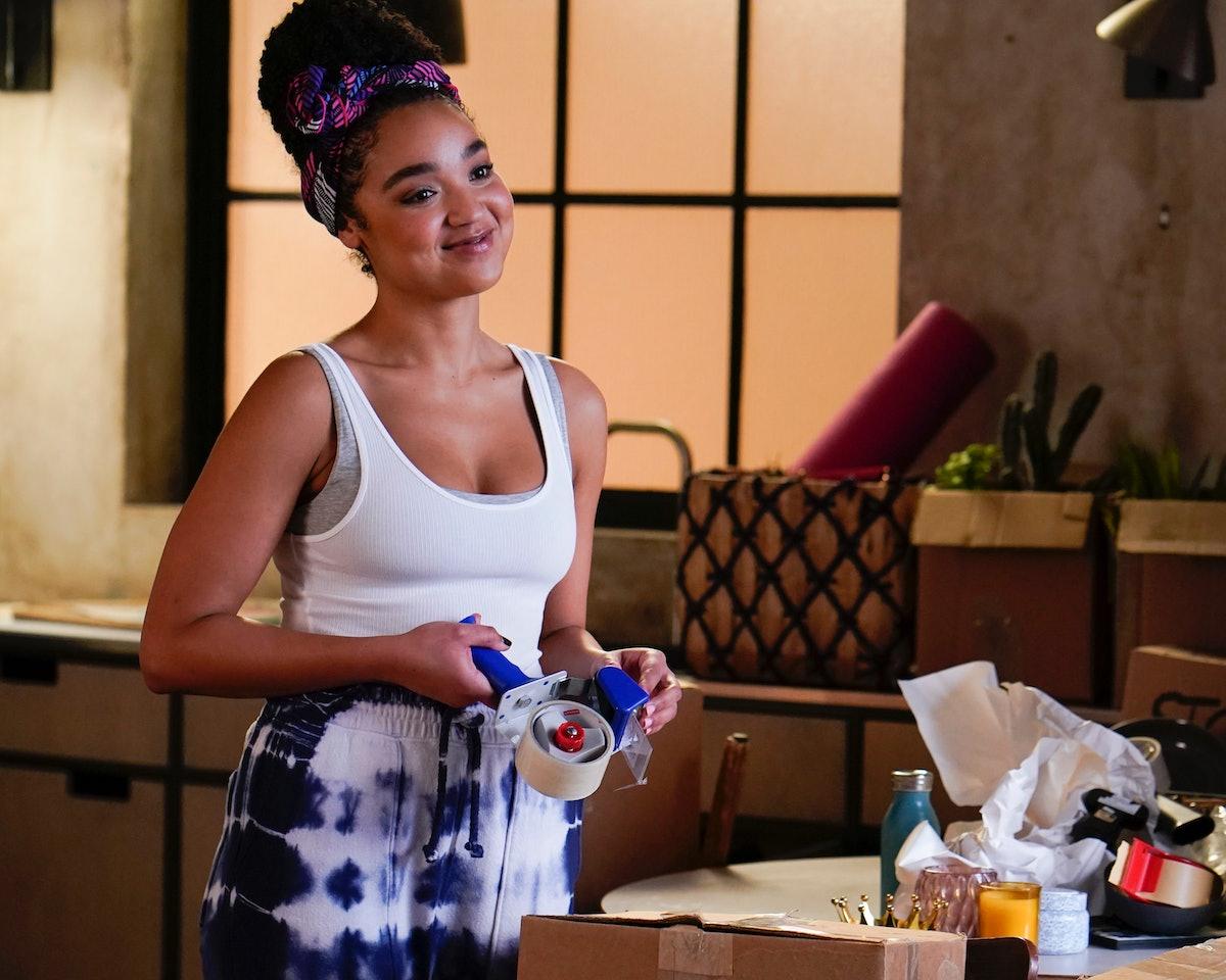 Aisha Dee as Kat in 'The Bold Type' Season 4