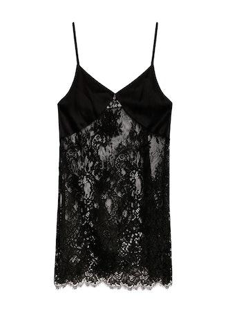 Cillis Lace Silk Combo Short Slip