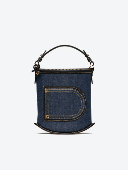 Pin Mini Bucket Jeans Sahara Denim Noir