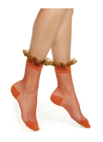 Organza Ruffle Socks