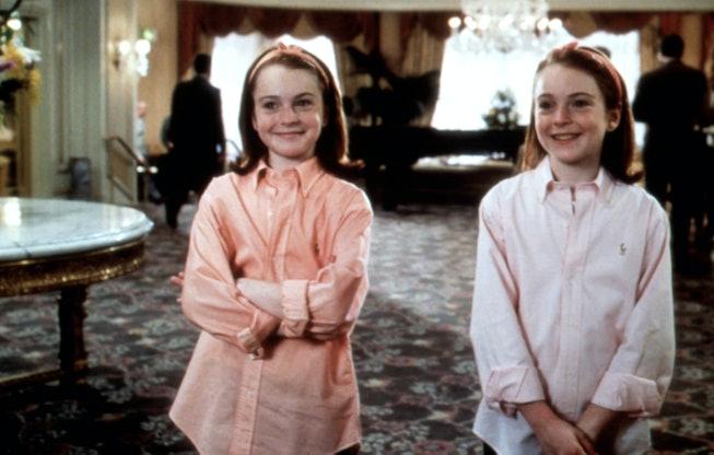 Lindsay Lohan as twins.