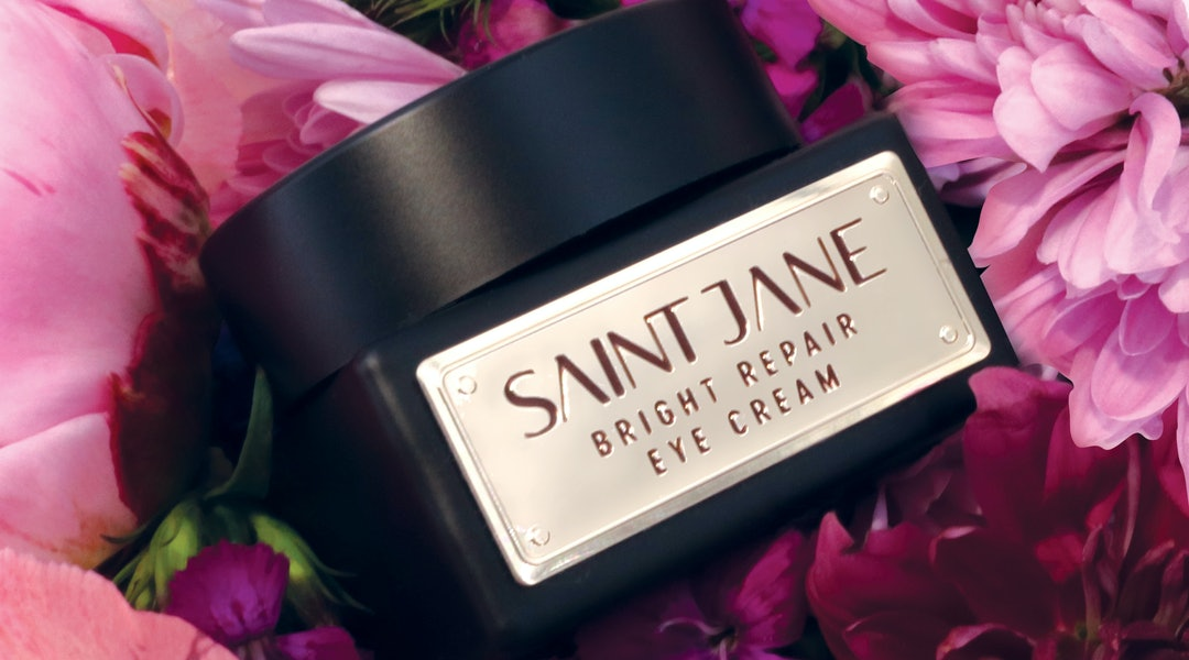 Packaging for Saint Jane's new Bright Repair Eye Cream.