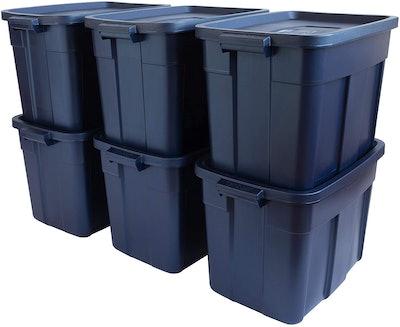 Rubbermaid Roughneck️ Storage Totes (6-Pack)