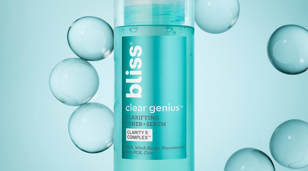 Bliss' new Clear Genius Clarifying collection is a clean (yet affordable) solution to blemish-prone skin
