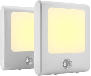 MAZ-TEK Plug in Motion Sensor Lights (2-Pack)