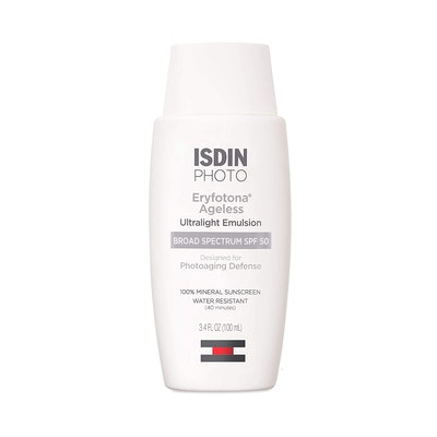 ISDIN Eryfotona Ageless Broad-Spectrum SPF 50 100% Mineral Sunscreen