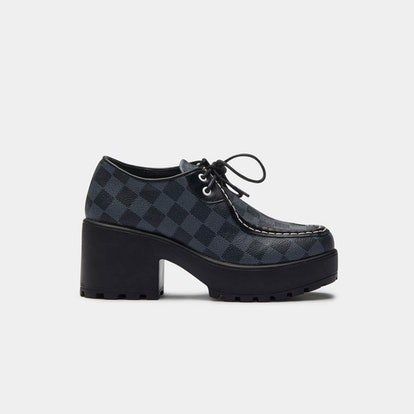 Amii Checkered Chunky Shoe