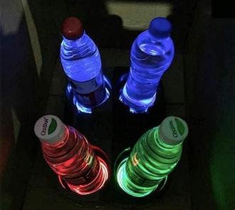 Interesting Car LED Cupholder Lights