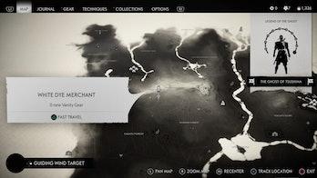 Black Dye Merchant Location, Ghost of Tsushima, White Dye Merchant Location