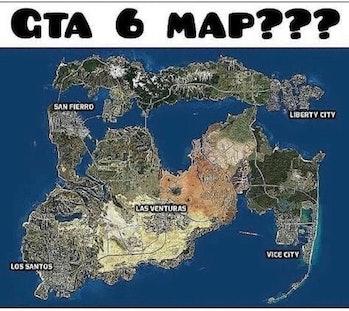 gta 6 fan map rockstar games