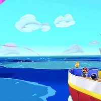 'Paper Mario: Origami King' Great Sea chart: All 11 island locations on a map