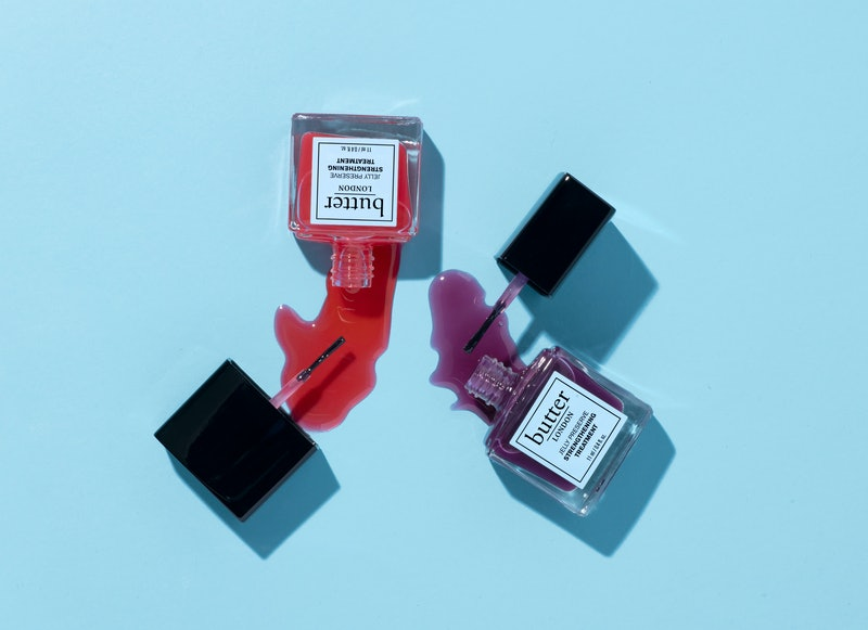 The newest product from butter LONDON is a jelly strengthening treatment.