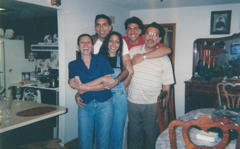 Rey Rivera and his family from 'Unsolved Mysteries' via the Netflix press site.