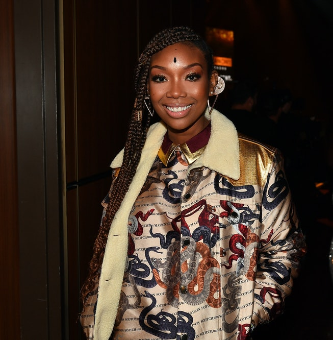 Singer Brandy attends 2019 Urban One Honors at MGM National Harbor on December 05, 2019 in Oxon Hill, Maryland.