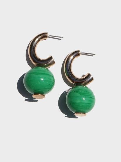 C-Curve Hoop Earrings