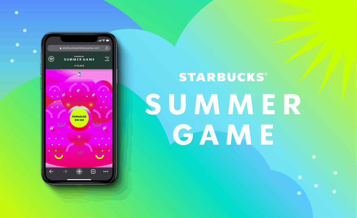 Starbucks' Summer Game is back for 2020, so get ready for the freebies.