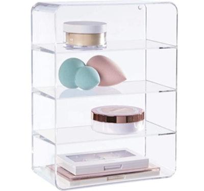 STORi Clear Plastic Vanity