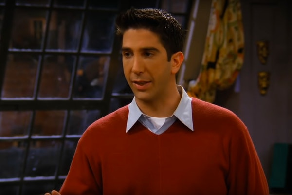 Ross from 'Friends'
