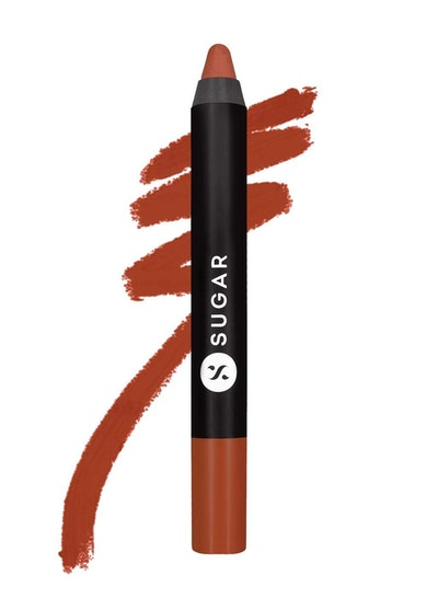 Matte As Hell Crayon Lipstick in Claire Underwood