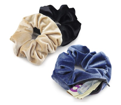 LokiStashed Velvet Hair Tie Scrunchies (3-Pack)