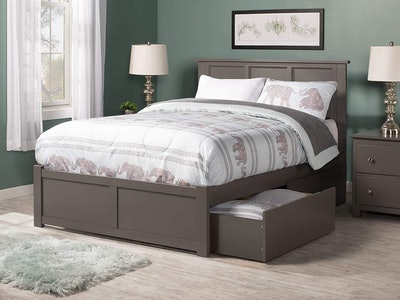 Atlantic Furniture Madison Wood Queen Size Bed