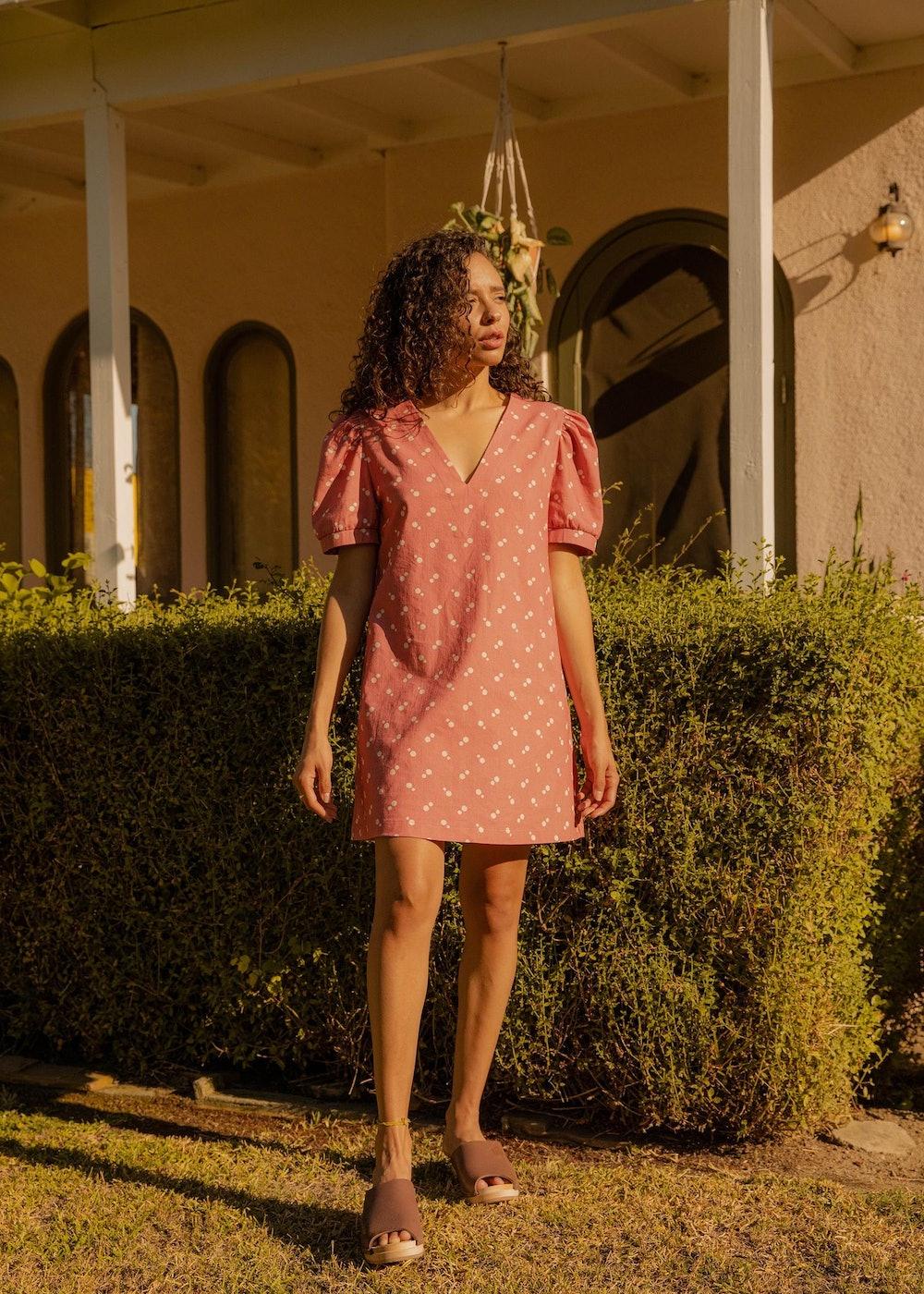 The Polka Pink Dress