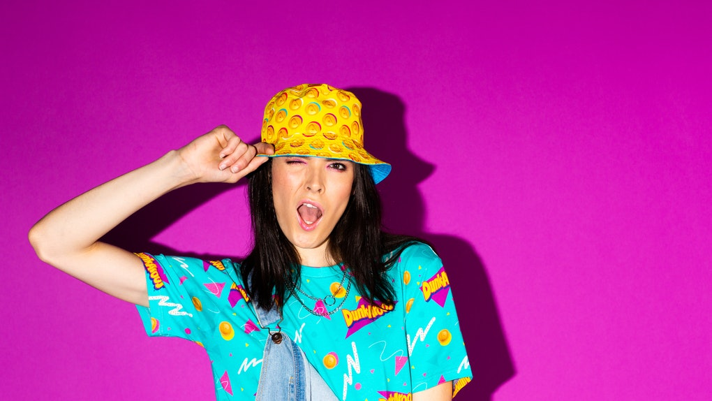 Where to buy Dunkaroos merch that features '90s outfits.