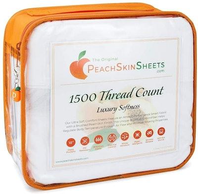 PeachSkinSheets Original Moisture Wicking Sheets