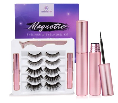 Arishine Magnetic Eyeliner and Lashes Kit