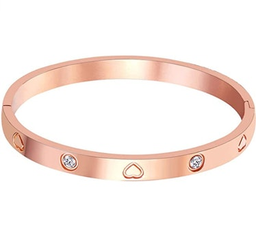 MVCOLEDY Rose Gold Plated Bangle